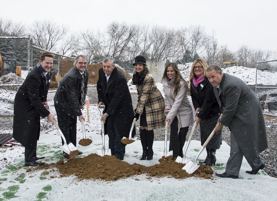 Arden court groundbreaking